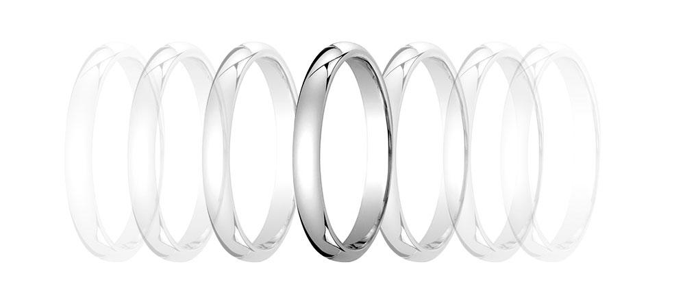 Обручальное кольцо европейка
